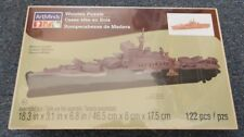 ART MINDS 83 Piece 3D MILITARY SAILING SHIP Wooden Puzzle NEW Sealed R14227