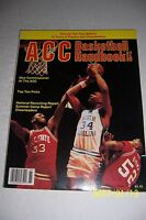 1987-88 ACC Yearbook NCAA BASKETBALL Preview JR Reid NORTH CAROLINA UNC NC State