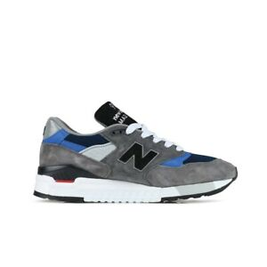 New Balance Made in USA 998 'Fishing' (Grey/Blue) Men Shoes M998NF