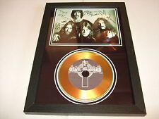 BLACK SABBATH    SIGNED  GOLD CD
