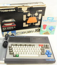 MSX PASOPIA IQ HX-10DP 64K Home Computer Boxed TOSHIBA Tested JAPAN Ref/0801
