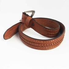 ref: 2020104 Ceinture Mexicaine western country marron homme, femme