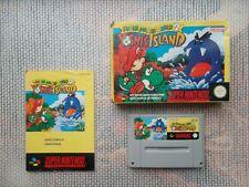 Jeu Super Nintendo / SNES Game Mario World 2 Yoshi's Island CIB complet original