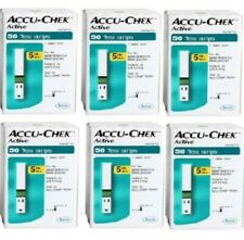 Sale ACCU CHEK Active Test Strips Health Easy Care 300 Sheets Monitoring_vger