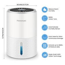Homemaxs Electric Mini Dehumidifier Ultra-Quiet Portable 900ml for Home,Bedroom