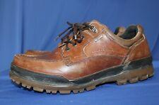 ECCO Track Oxfords Low Shoes  Brown Leather Rubber Sole  Goretex EU 46