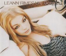 LeAnn Rimes CD Single Life Goes On - Europe (M/EX+)