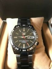 SEIKO 5 SNKE03 SNKE03K Automatic Men's Watch Analog Stainless Steel Black