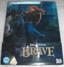 Brave / Merida Legende der Highlands Disney 3D Blu-Ray Steelbook 2-Discs NEU NEW