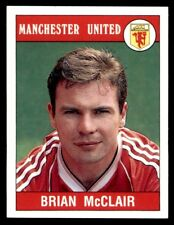 Panini Football 90 - Brian McClair Manchester United No. 183