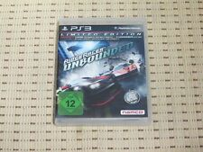 Ridge Racer Unbounded Limited Edition für Playstation 3 PS3 PS 3 *OVP*