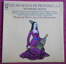LES MUSICIENS DE PROVENCE LP ORIG FR ARION INSTRUMENTS ANCIENS