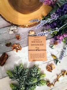 Social distancing card Social distancing hug social distance gift lockdown Gift