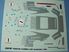DECALCOMANIES  PORSCHE  CARRERA  CUP  1990  1/43  COMME  NEUF  NO  SPARK