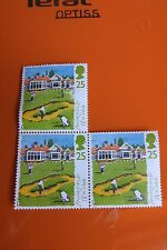 Lot 3 timbres GB - Scottish Golf Courses - Muirfield Course - 1994 25p Stamp