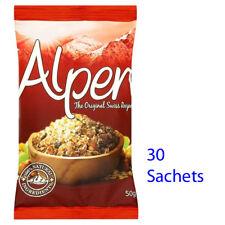 ALPEN Muesli BUSTINE ORIGINALE 30 x 50 G cereali Campeggio Vacanze RISTORAZIONE 230782