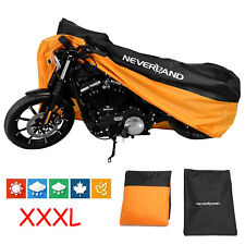 XXXL 190T Motorcycle Cover Outdoor Waterproof For Harley Sportster Road US Stock