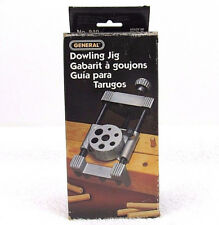 NEW! GENERAL Revolving Turret Dowling Jig #840  3/16,1/4, 5/16, 3/8 ,7/16, 1/2