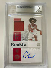 2019-2020 19-20 Panini Encased Coby White Rookie Jersey Auto RPA /99 BGS 9 10