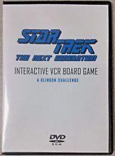 Star Trek The Next Generation A Klingon Challenge Board Game DVD (VHS Version)