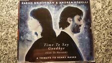 Sarah Brightman & Andrea Bocelli / Time to say goodbye - Maxi CD