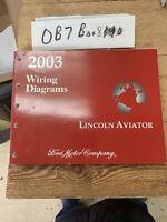 2003 Ford Lincoln Aviator Service Repair Wiring Diagrams Manual