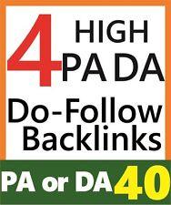 High PA40+ DA 30+ Quality Backlinks, Genuine Website SEO, Rank 1st on Google*