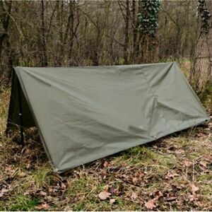BRITISH ARMY BASHA olive bivi military camping hide ripstop shelter hiking tent