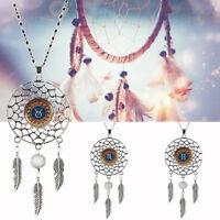 Ee _ Eg _ Moda Constelación Serie Atrapasueños Colgante Collar con Regalo