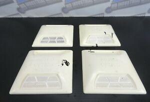 (LOT OF 4) ASTRO OPTICS Commercial Grade Road REFLECTORS - White - One Way