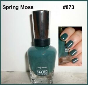 Sally Hansen Complete Salon Manicure Nail Polish  Spring Moss  #873