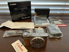 (MINT) Canon PowerShot G9 X 20.2 MP Digital Camera - Silver (with Case/SD Card)