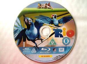 66529 Blu-ray - Rio  2011
