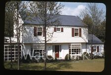 1940s kodachrome photo slide House exterior Dutch Boy Paint collection #2
