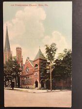 Postcard Erie PA - First Presbyterian Church