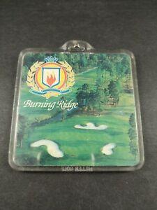 Burning Ridge Golf Club Bag Tag ~~ Myrtle Beach, South Carolina