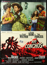 CINEMA-fotobusta RIO CONCHOS whitman,boone,franciosa