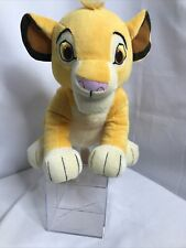 DISNEY LION King Simba CUB Yellow PLUSH Kohl's Cares Pre-owned EUC