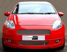 Zunsport SILVER FRONT GRILLE SET for Fiat Grande Punto (Body Kit) 06-09