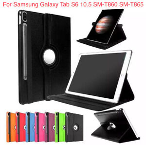 360 Rotating Stand Case For Samsung Galaxy Tab S6 10.5 T860 T865 Tablet Cover
