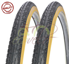 2 DUE COPERTONI BICI CITY BIKE BICICLETTA NERO PARA 700X32 28 5/8 1/4