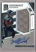 AMARA DARBOH - 2017 Spectra Radiant Rookies 2 Color Patch AUTO /299 - Seahawks