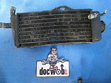 Honda CR250 1988-1989 Used genuine oem right hand filler side radiator CR1598