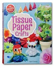 Tissue Paper Crafts [With String, Wire, Bead Eyes, Punch-Out Birdcage and...