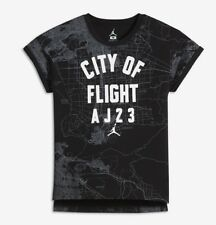 Nike Air Jordan Girls City of Flight Top Tee T-Shirt Size Med.