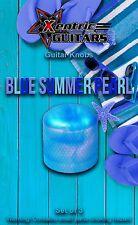 XGK144 Blue Summer Pearl Guitar Knobs (3)