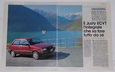 Test Drive Prova 1992 SUBARU JUSTY 1.2 ECVT