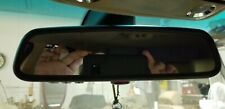 BMW Rear View Hidden Compass Mirror with Homelink