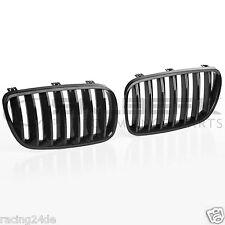 Frontgrill Nieren passend  für BMW X3 E83 FL schwarz glänzend salberk 8303
