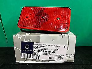 Mercedes G500 G55 G550 Side Marker Reflector Lens RED Left or Rigth Genuine